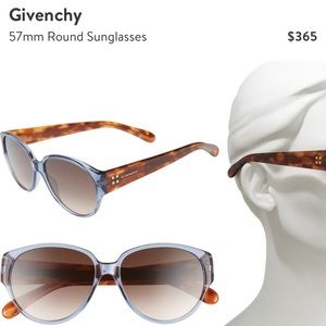 Givenchy 57mm sunglasss with tags $365 retail